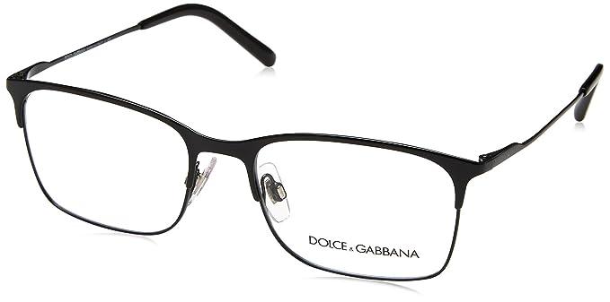 Amazon.com: Dolce & Gabbana de los hombres dg1289 Eyeglasses ...