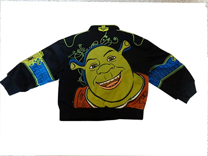 Amazon.com: JH diseño chamarra Shrek de sarga 3T: Clothing