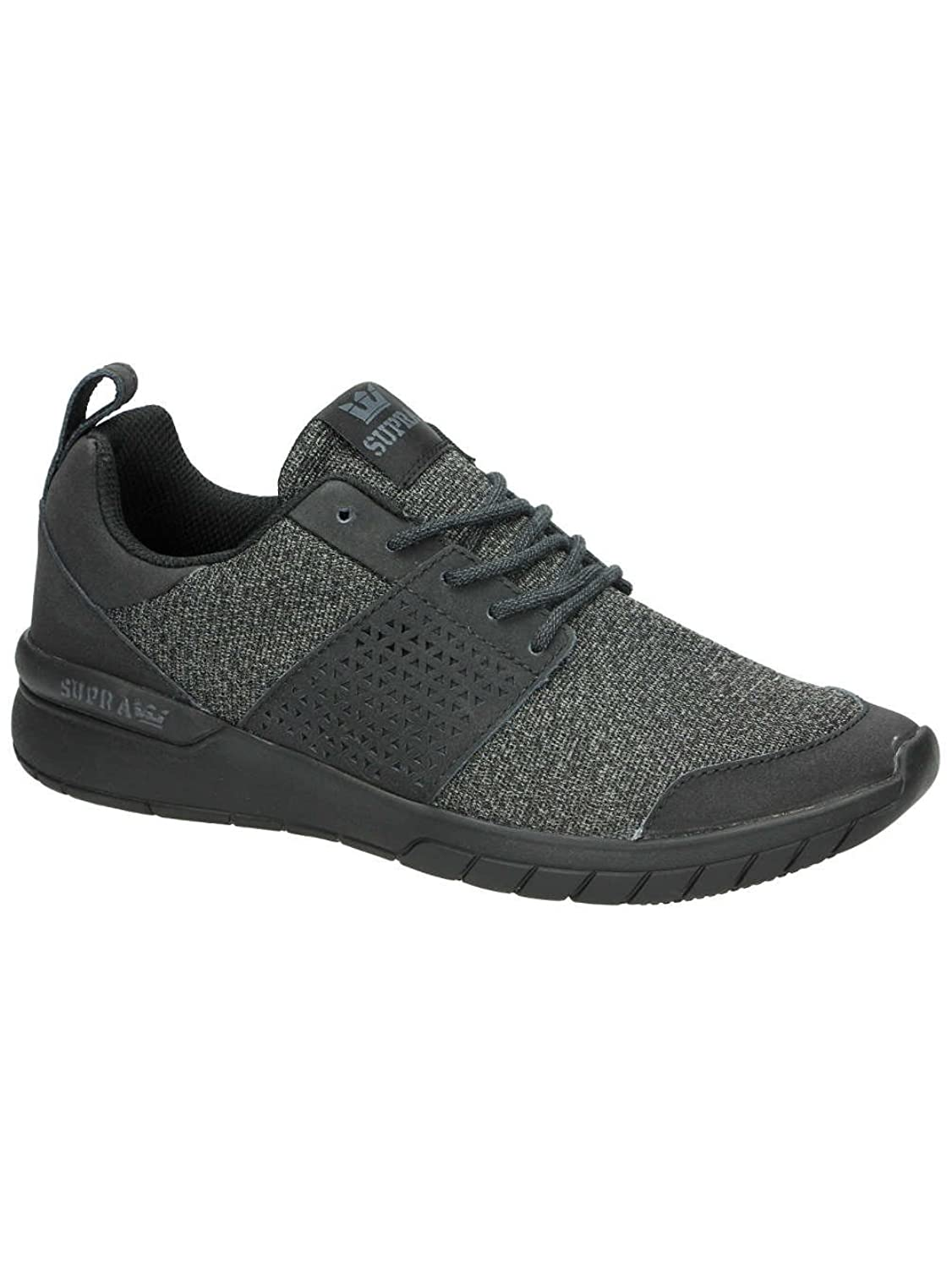 Supra Men's Scissor Black/Black Sneaker Men's 8, Women's 9.5 D (M)