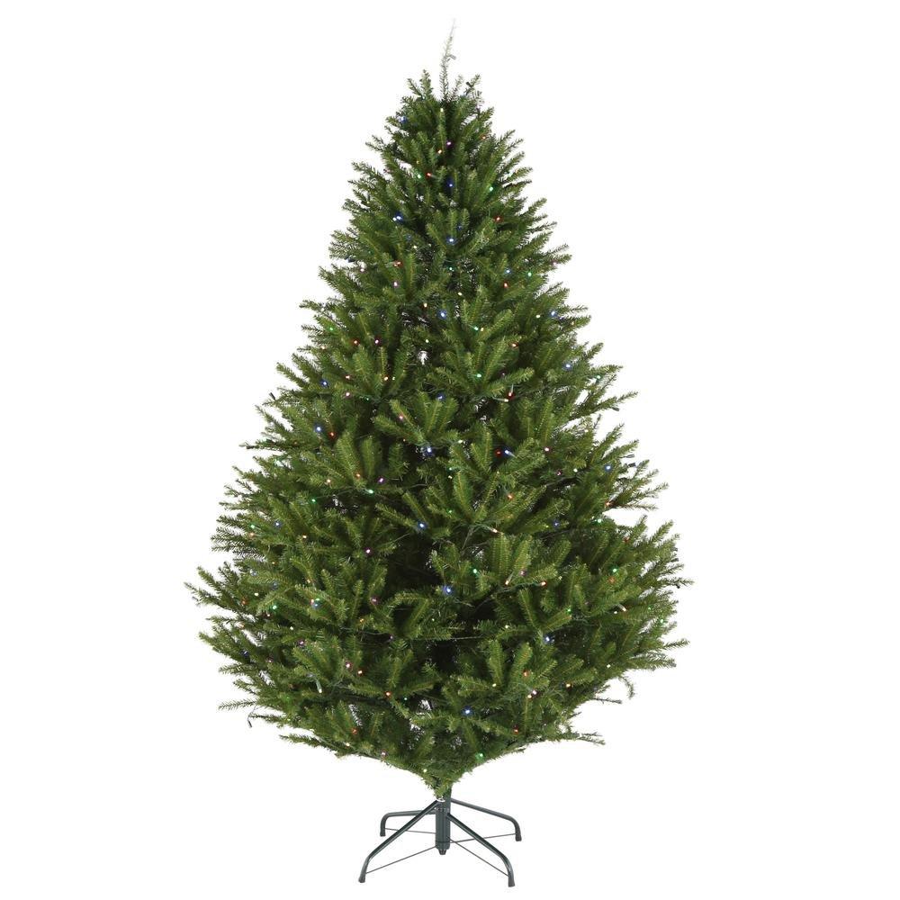 Amazon.com: 7.5 ft. Pre-Lit LED California Cedar Artificial ...