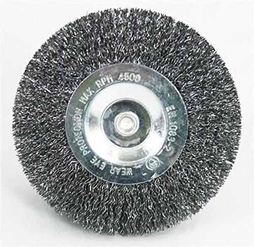 runde Drahtb/ürste//Metallb/ürste 10er Set Fugenb/ürste passend f/ür elektrische Fugenb/ürste gartenteile EFB 4010 Metall//Draht