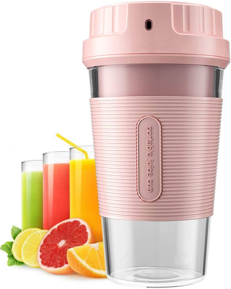 TIKTOK Portable Blender Cordless Mini Personal Blender Small Smoothie Blender USB Fruit Juicer cup