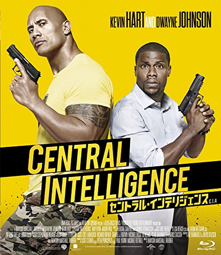[Amazon. Co. JP Limited] with Central Intelligence (brochure) [Blu-ray]