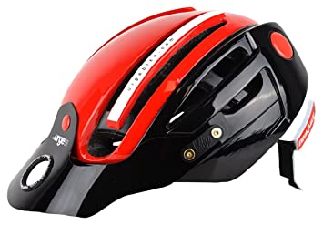 Urge Endur o Matic Casco, Color - Negro y Rojo, tamaño S/M