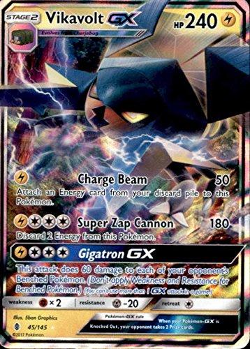 Ultra Rare Sun /& Moon: Guardians Rising 45//145 Vikavolt-GX