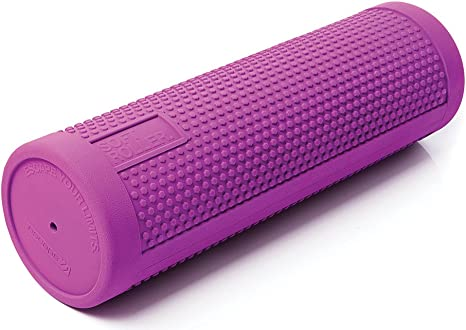 OgiYogi Foam Roller Blue 45cm Muscle Therapy Home Gym Exercise Fitness Yoga