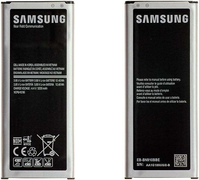 Batería de reemplazo Original de Samsung EB-BN910BBE ...