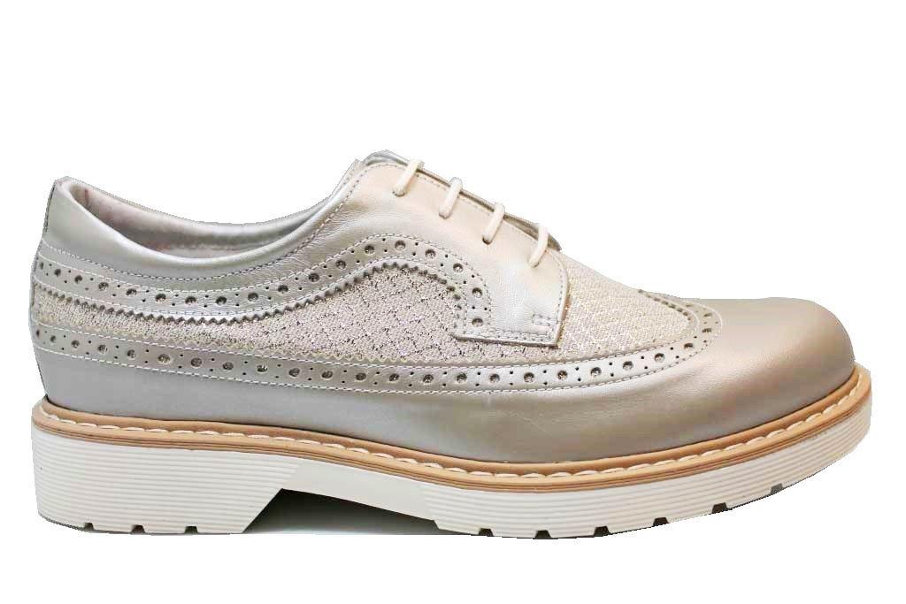 Negro Giardini J P830070F Beige y Blanco Zapatos De Mujer Estilo Inglés 35-39 39 EU|Beige