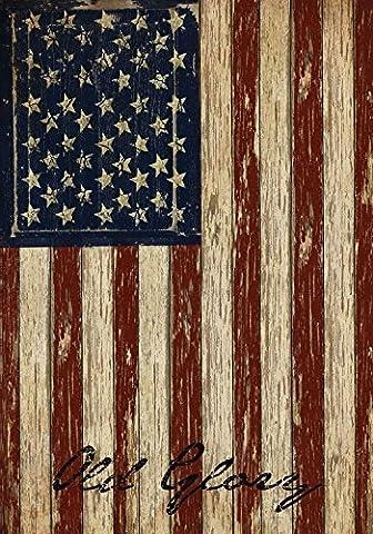 Old Glory Patriotic House Flag Vintage American Flag 28