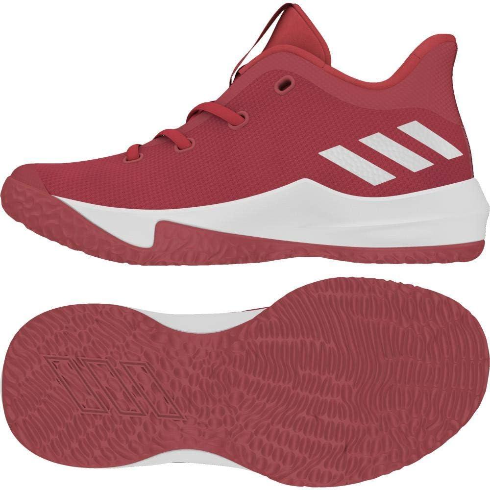 Adidas Rise Up 2 K, Zapatillas de Baloncesto Unisex Adulto, Rojo ...