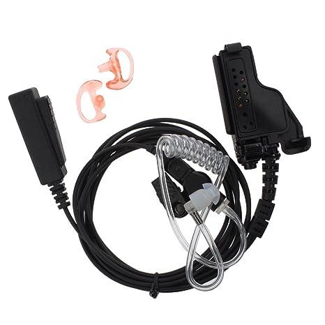 FBI Earpiece Headset Mic PTT for Motorola GP900 HT1000 MTS2000 XTS5000 XTS5000R