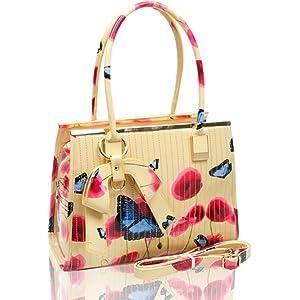 e486552e650b Ladies Women s Fashion Designer Patent Butterfly Print Shoulder Bag Hot  Selling Shinny Cross Body Handbag