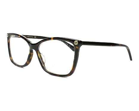 Amazon Gucci Gg0025o Optical Frame 002 Avana Avana 56 Mm Clothing