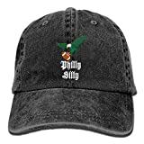 Thirty Sexy Gift Philly Dilly Philadelphia Eagles Adjustable Cowboy Hats Vintage Cotton Denim Baseball Caps