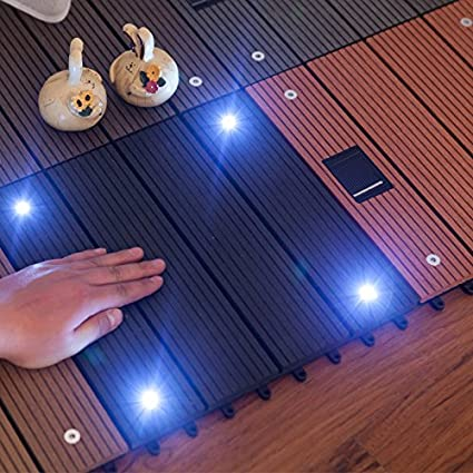 Amazon Bargain World Wood Plastic Composite Flooring With Solar