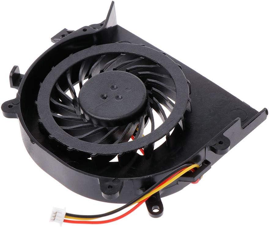 RGBIWCO OEM Cooling Fan CPU Cooler Radiator 3 Pins for Sony EA EB EA16 EA18 EA2 EA25 EA27 VAIO VPC-EA VPC-EB VPC-EC VPCEA VPCEB VPCEC Series CPU Cooler