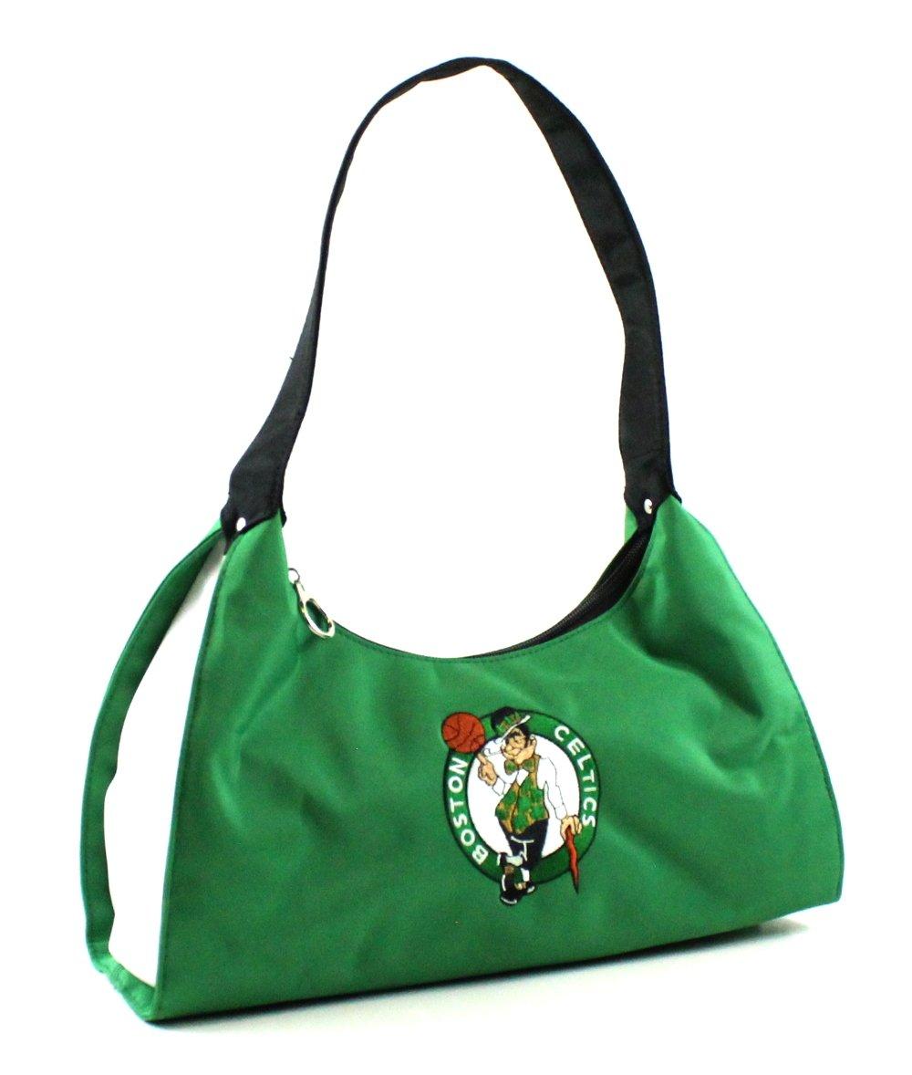 Littlearth NBA Boston Celtics Hobo Pro Fiber Purse, Green