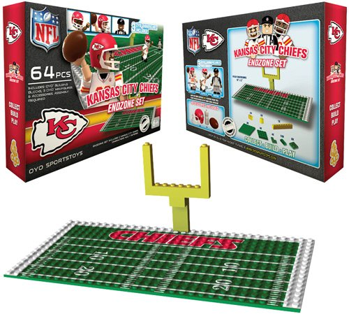 NFL Kansas City Chiefs Endzone Toy Set