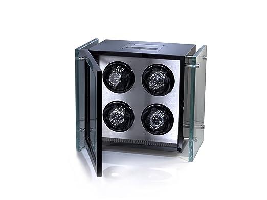 Raoul U. Braun Reloj beweger Aero para 4 Relojes Piano Negro: Amazon.es: Relojes