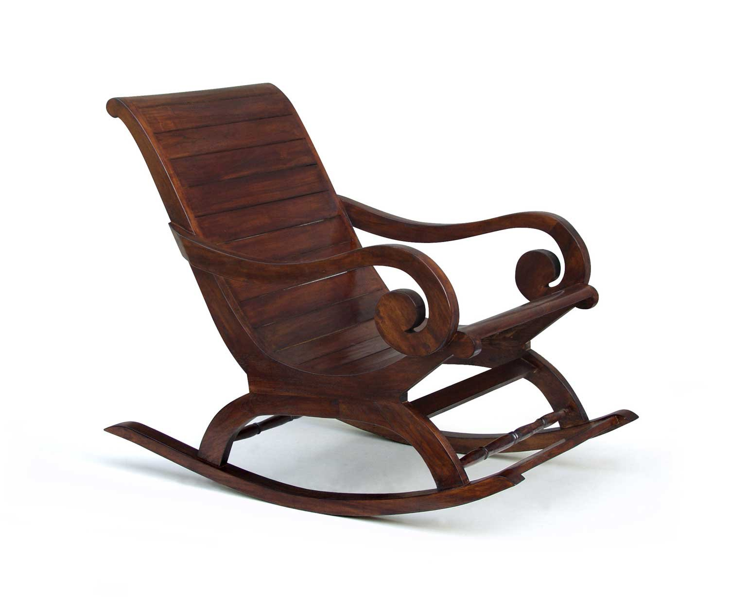 jati antiqued lazy plantation rocking chair brand quality value