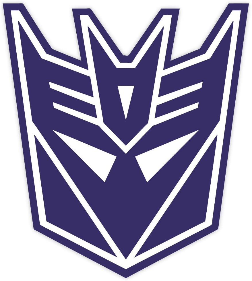 "Decepticon Transformer sticker decal 4"" x 5"""