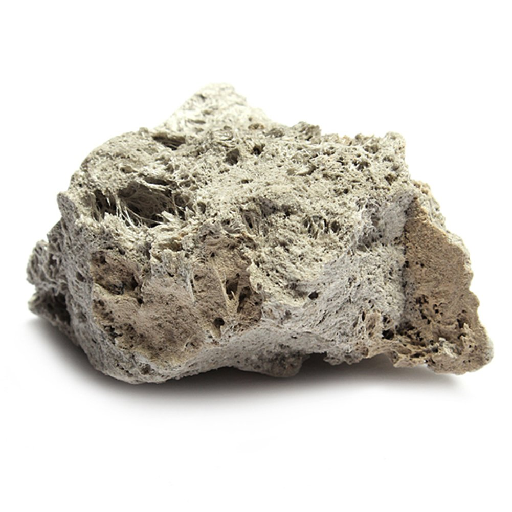 MOOUS Aquarium Pumice Stone Decoration Fish Tank Natural Floating Rocks Landscape Decorations Ornament Landscape(S)