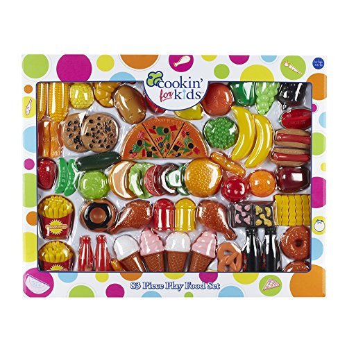 Cookin' for Kids 83 Piece Play Food Set