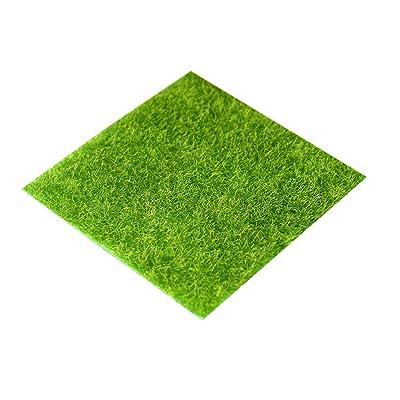 IMIKEYA 1Pc Life-Like Fairy Artificial Grass Artifical Grass Decoration for Dollhouse Garden Craft Microlandscape Green : Garden & Outdoor