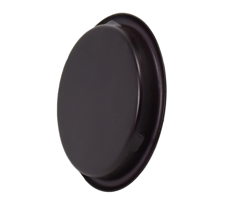 "Easy Snap in Installation Oil Rubbed Bronze,Fits a 5//16/""Depth x 2-1//8 Diameter Opening Hole,2 Pack HOMOTEK Closet Door Finger Pull 2-1//8/"""