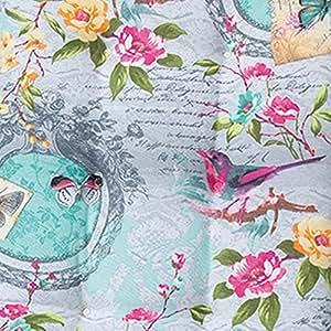 Cojín Florance Sissy Grey, 47x 47cm