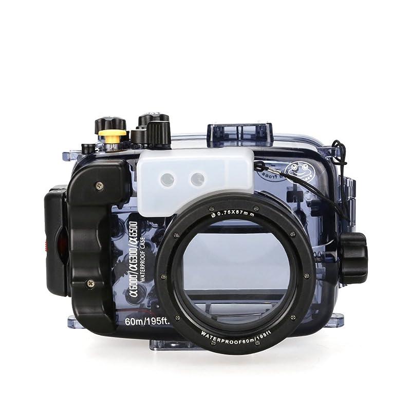 Seafrogs 카메라 수중 촬영 하우징 케이스 소니α6500 α6300 α6000대응 60m/195ft