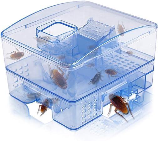 Gutyan Trappola per scarafaggi Heimchenfalle Scarafaggi riutilizzabili Non tossici Scatola di Gocce Scarabeo Efficace Scarafaggi Scarafaggi di casa Trappole per Esche assassine