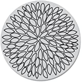 Brand New Hero Arts Cling Stamps 4''X4''-Large Open Flower Brand New sale 2017