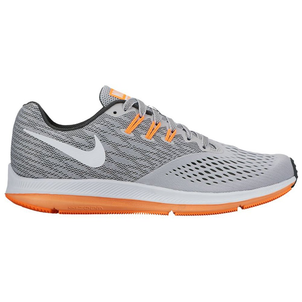 246e629cebea Nike- Air Zoom Winflo 4 Running Shoes Wolf Gray White Anthracite Tart Size  12 M  Amazon.co.uk  Shoes   Bags