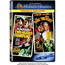 The Incredible Two-Headed Transplant / The Thing with Two Heads (Midnite Movies Double Feature) (2006)