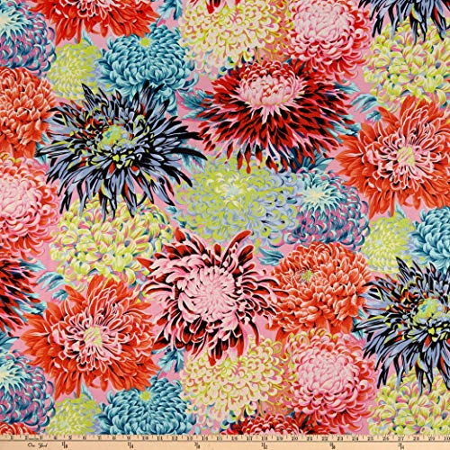 FreeSpirit Fabrics Kaffe Fassett Collective for Japanese Chrysanthemum Contrast Fabric Fabric by the Yard