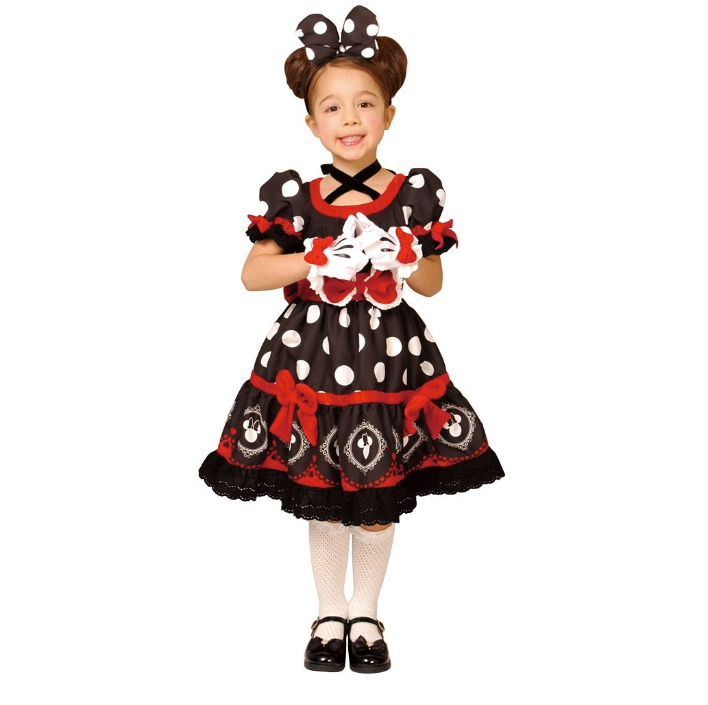 Disney Minnie Mouse Costume -- Gothic-Style -- Girl's Black M Costume