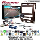 Pioneer AVIC-7201NEX Double Din Radio Install Kit with GPS Navigation Apple CarPlay Android Auto Fits 2009-2010 Ford F-150 (Milano Maple Woodgrain)