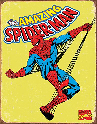 Old Tin Signs Retro_The_Amazing_Spider-Man_Marvel_Comics