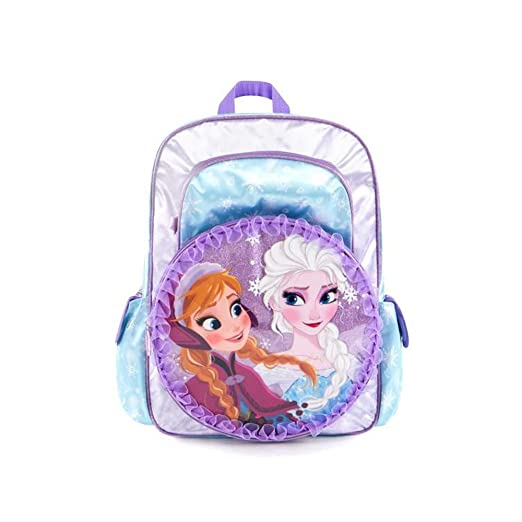 f21bf6e0d4 Image Unavailable. Image not available for. Color  Heys Disney Girls Deluxe School  Backpack - Frozen 16 Inch