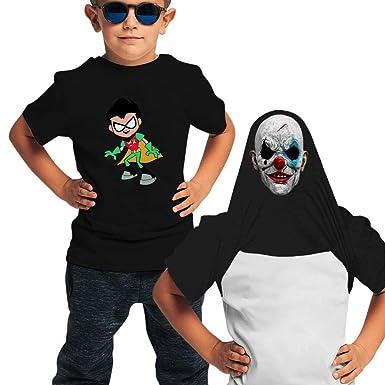 Amazon.com: LASYLY R-OBI-n Youth Ninja Disguise Flip T Shirt ...