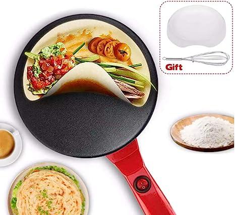 Nishore Pancake Pan Crepe Maker Flat Pan Griddle Pan with Spreader /& Spatula Crepe Maker Griddle