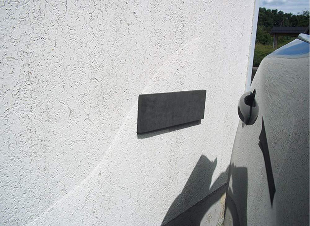 je 40x12x1,5 cm f/ür Garagen und Carport 4x T/ürkantenschutz Auto zuverl/ässiger Auto-T/ürschutz durch 4 extra dicke selbstklebende Schutzmatten Wandschutz Garage