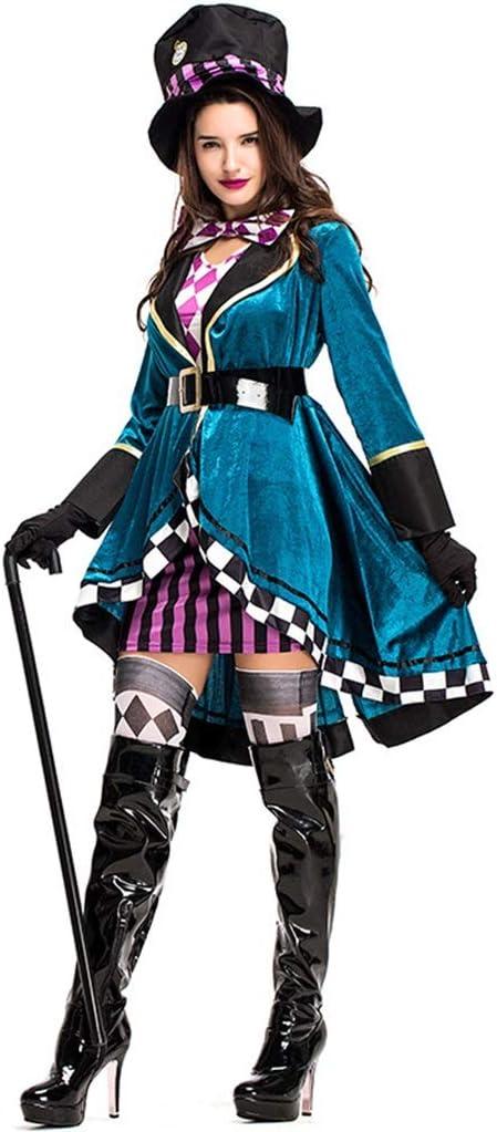 Disfraz De Mago Femenino De Halloween Disfraz De Domadora Alice ...