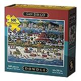 Dowdle San Diego California Coronado Island Made in USA 500 Piece Jigsaw Puzzle