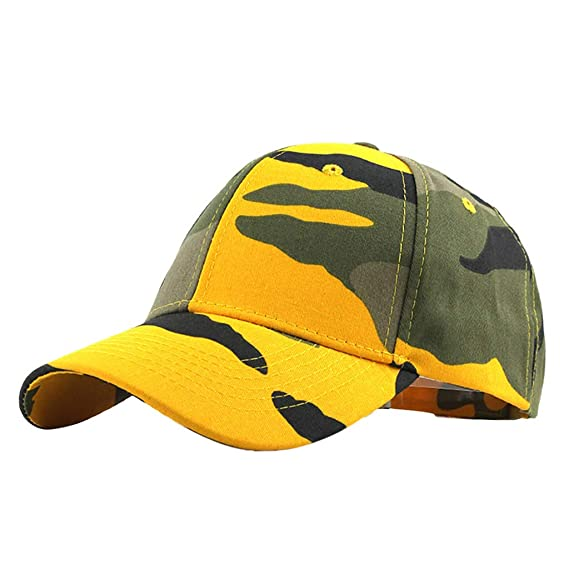 Hombres Mujeres Camuflaje Sports Cap Gorra de BéIsbol EjéRcito Caza Visera Gorra de Camuflaje Militar para Caza Sombrero Sol Al Aire Libre Deporte ...