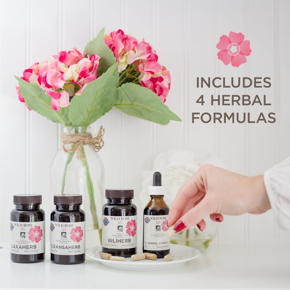 Garden of Life 12 Day Detox Cleanse - Wild Rose Herbal D-Tox Kit (12 Day) by Garden of Life (Image #8)