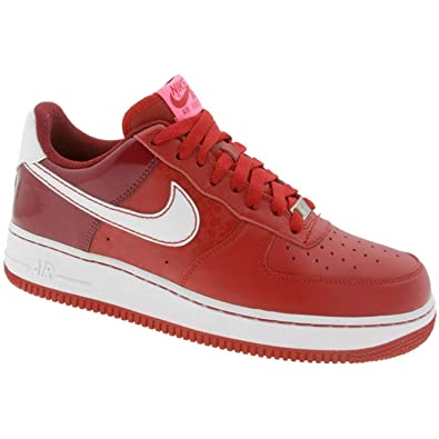 Nike Womens Air Force 1 Low - 2008 Valentines Day (Varsity red White Team  red Laser Pink)-8.5 771bc3e22