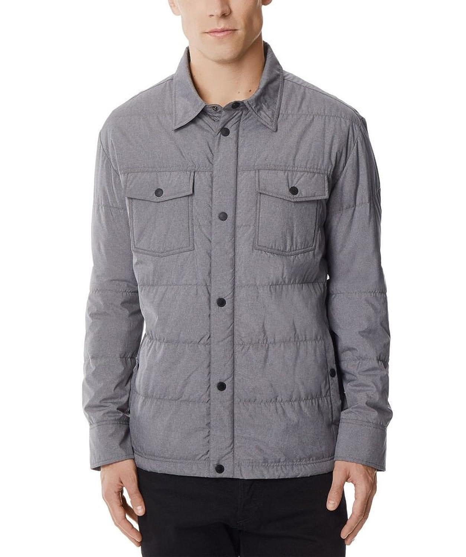 32 DEGREES Men's Packable Down Shirt Jacket