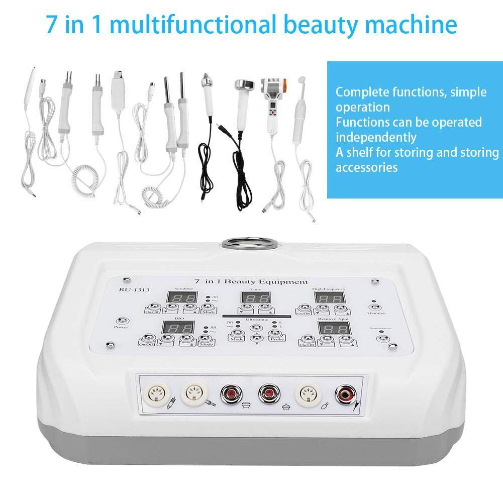 Gesichtshaut Schönheitsinstrument, Professional 7 IN 1 Gesichtsschönheitsmaschine Schönheitsmaschine BIO Hot Cold Hammer für Schönheitssalon und Haushalt(2#) 2 #